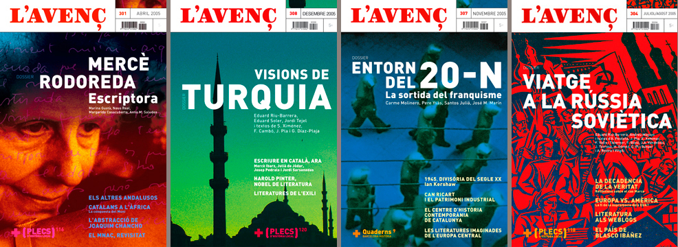 CULTURAL MAGAZINE. RESTYLING & COVERS (with X.ALAMANY)<br/>L'AVENÇ